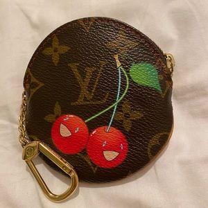 Vintage Louis Vuitton Cherry Coin Purse